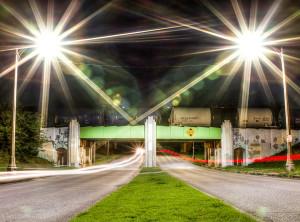 Marconi Drive at Night